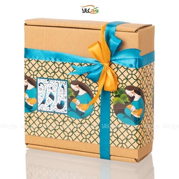 جعبه شکلات و دمنوش روز مادر وگان
