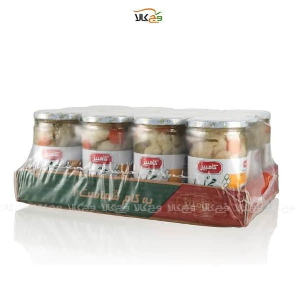 شیرینگ ترشی مخلوط درشت کامبیز
