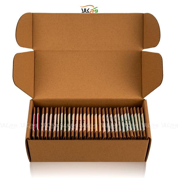 جعبه هدیه - شکلات - وگان